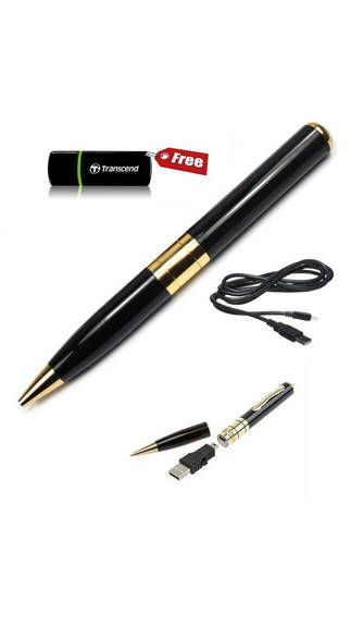 Buy Spy Pen HD Video Hidden 5 Megapixel Camera Free SD Card Reader online
