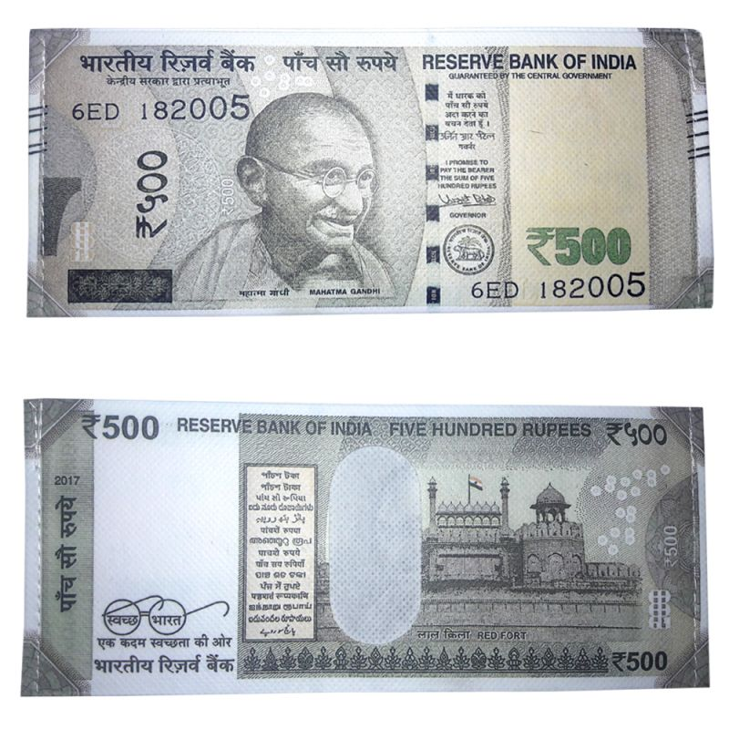 New Indian 500 Ru Note Currency Design Wallet Purse Online