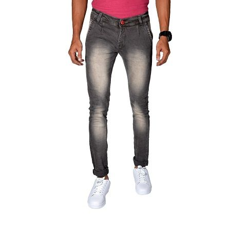 Buy Noori Garment Grey Denim Jeans online
