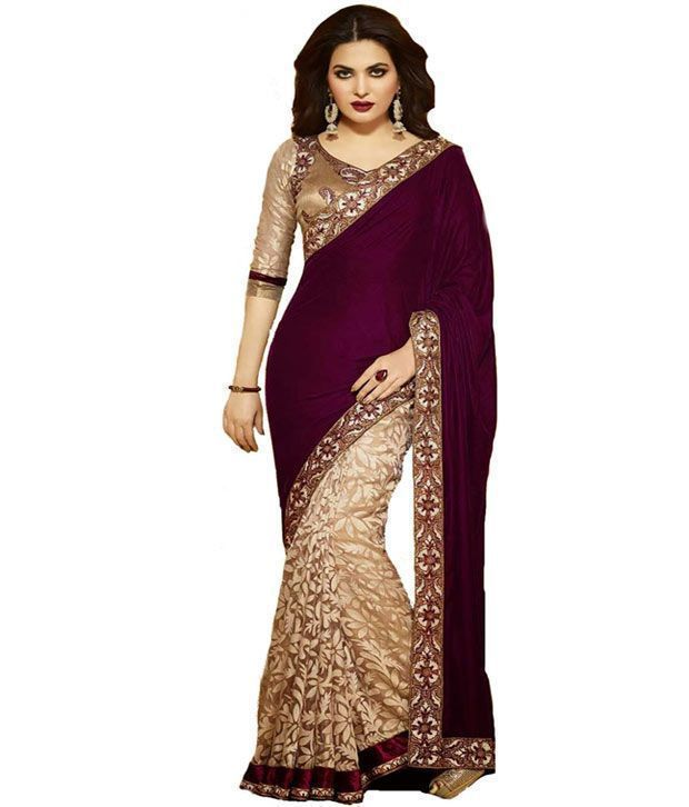 Buy Designer Bollywood Saree Aa490 online