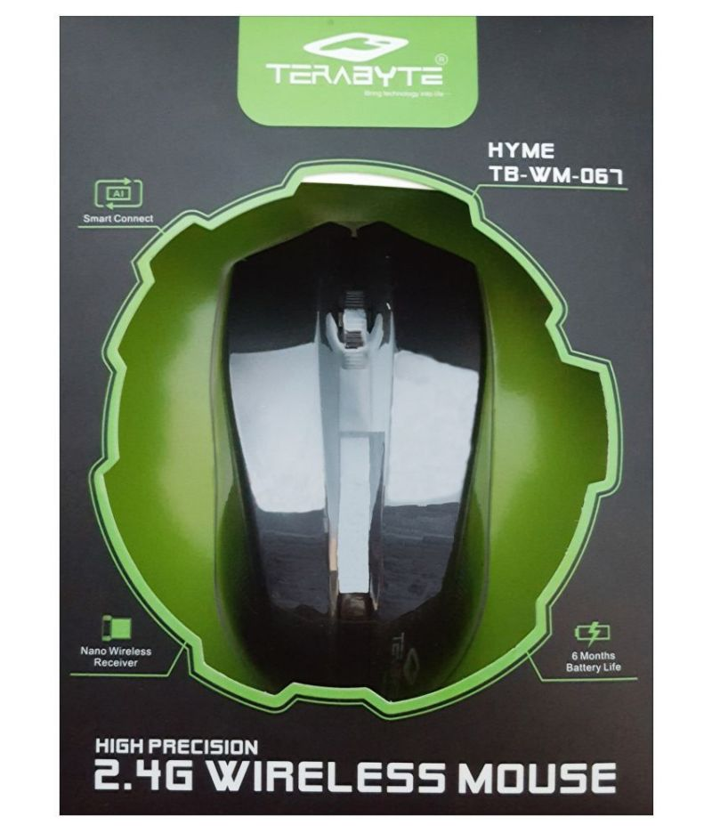 Buy Terabyte Tb-wm-063 Black Wireless Mouse online
