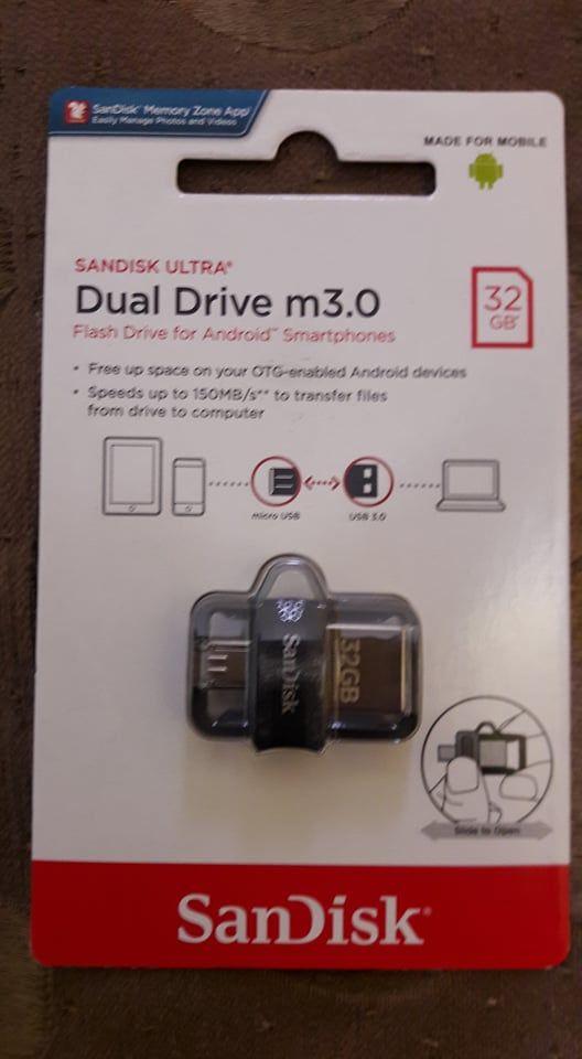92e4bf7d564 Buy Sandisk Ultra Dual 32GB USB 3.0 Otg Pen Drive Online