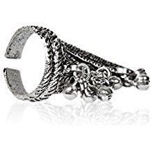 Buy Sparkle Artificial Oxidized Plated  Ring online