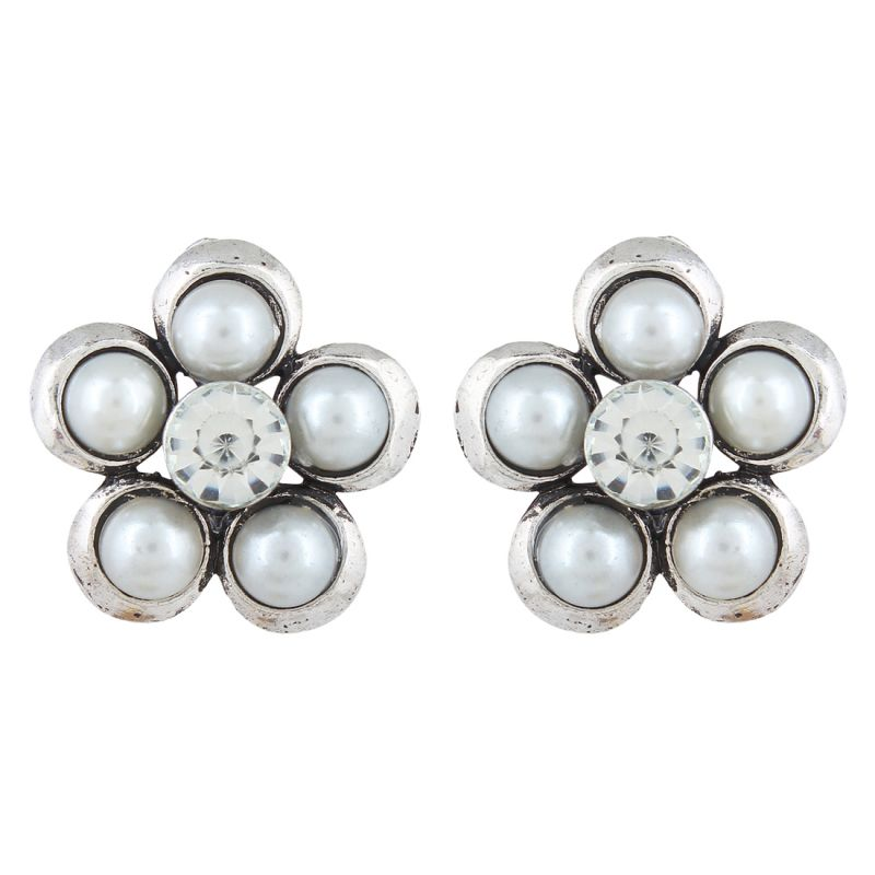 Buy Firstblush Diva Style Clip On Earrings For Non Pierced Ears / Unpierced Ears online