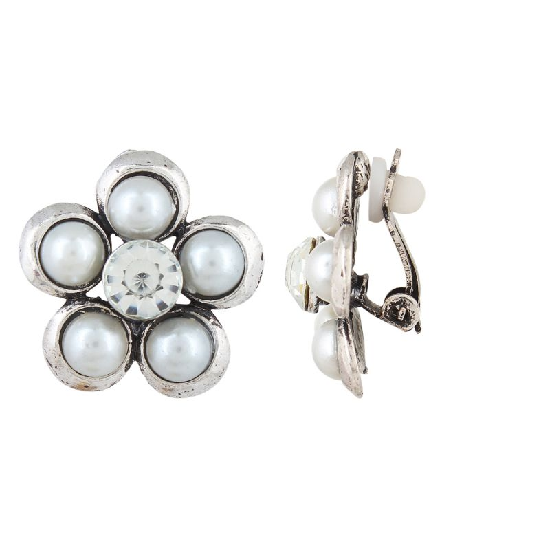 Buy Firstblush Diva Style Clip On Earrings For Non Pierced Ears