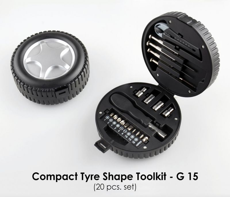 Buy G15 - Compact Tyre Shape Toolkit (20pcs. Set) online