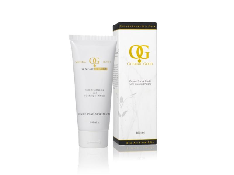 Buy Oceanic Gold Ocean Facial Scrub With Crushed Pearls online