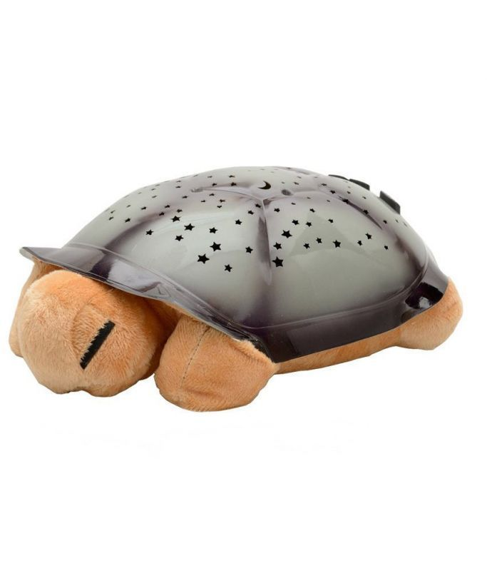 Buy Musical Turtle Night Light Star Sky Projector Lamp Baby Kids Bedroom Toy online