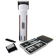 Buy Nova Men's Hair Trimmer Cum Clipper With 7pcs Manicure Kit online
