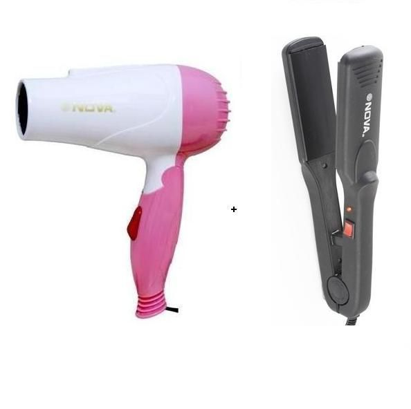 Buy Buy A Nova Hot/cold Hair Dryer And Get A Nova Straightener Free online