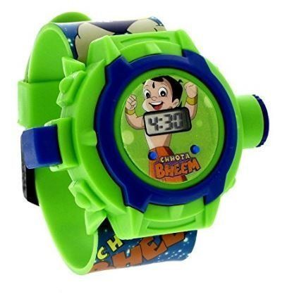 Buy 6th Dimensions Cartoon Character 24 Image Projector Watch (color May Vary) (code-6d166) online