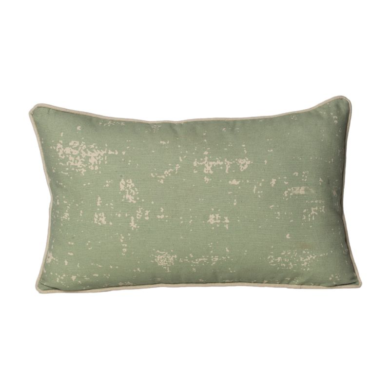 Buy Monogram Beige Rectangle Cotton Cushion Cover - 3 Pcs Set -Beige-Green online