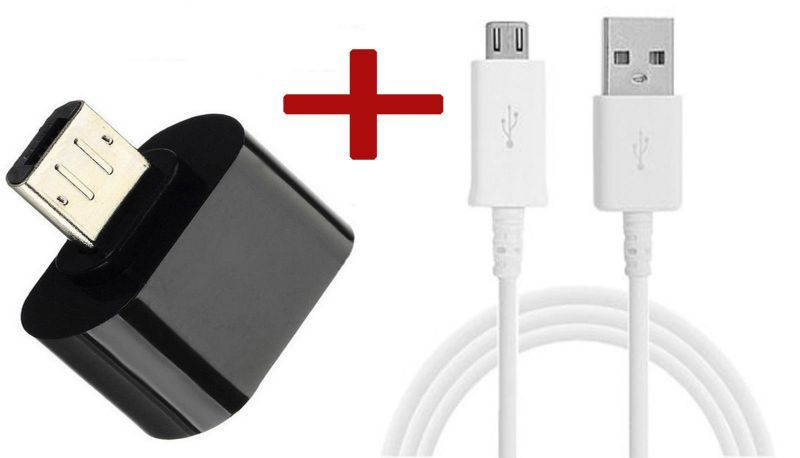 Buy Combo Offer Otg Adapter And Data Cable online