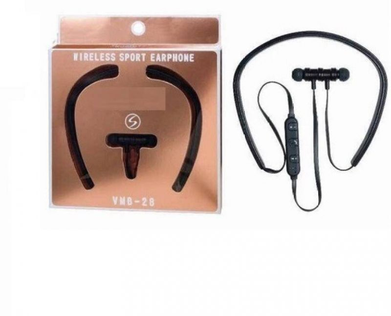 Buy Signature Vmb-28 Headset With Mic (black, In The Ear) online