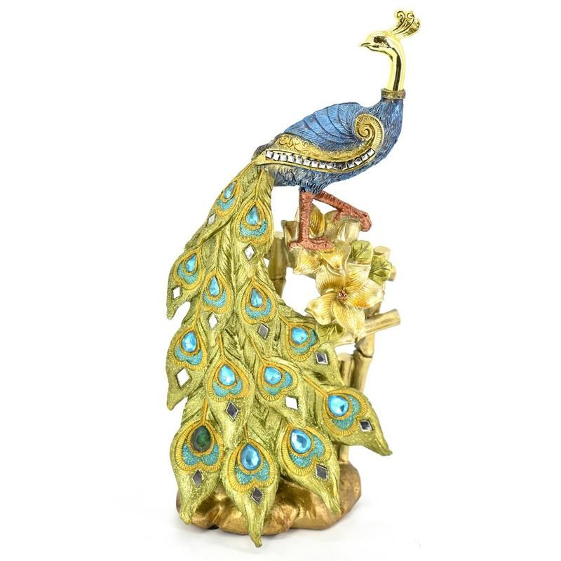 Buy Peacock Home Decoration Show Piece online