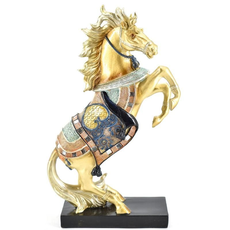 Buy Colored Horse Polyresin Home Decoration Show Piece online
