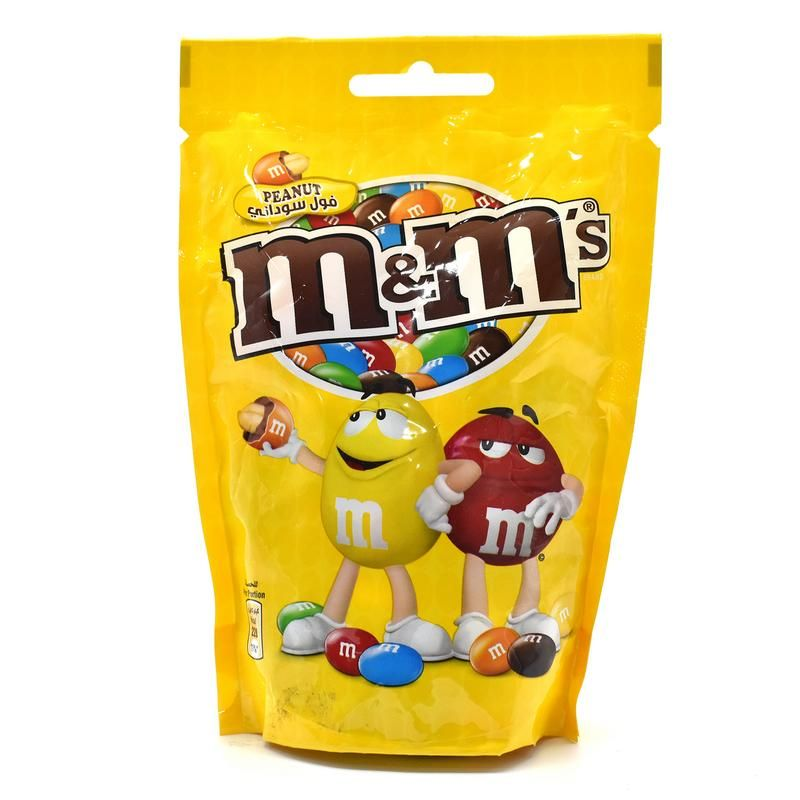 Buy M&m Peanut Covered With Milk Chocolate In Candy Shell - 180g online