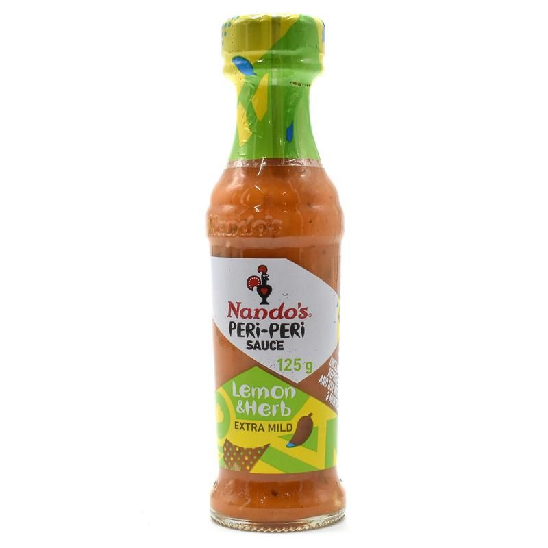 Buy Nando's Peri-peri Sauce Lemon & Herb Medium - 125g online