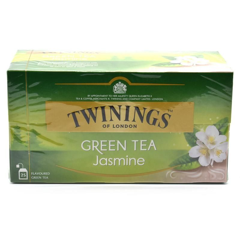 Buy Twinnings Green Tea Jasmine, 25 Tea Bags - 45g online