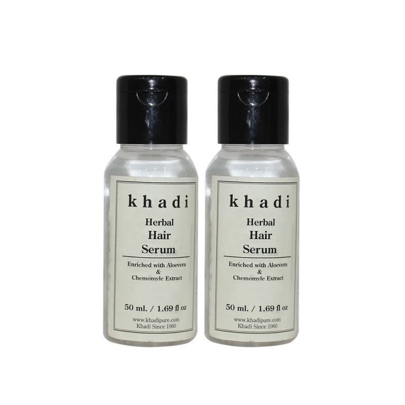 Buy Khadi Herbal Hair Serum - 50ml (set Of 2) online