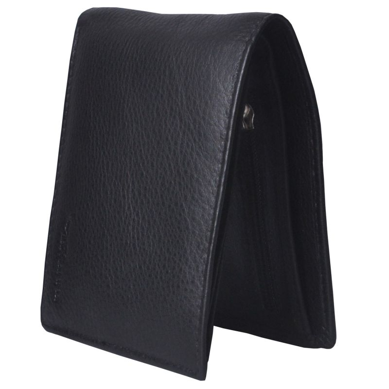 Buy Tamanna Men Black Genuine Leather Wallet (8 Card Slots) (code - Lwm00036-tm) online