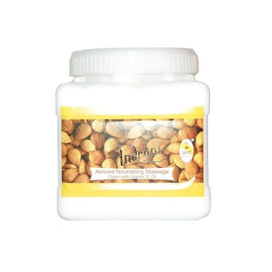 Buy Indrani Almond Nourishing Massage Cream With Vitamin-e Oil-1kg online