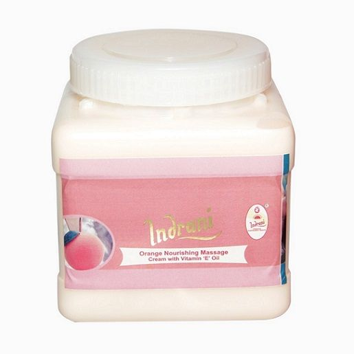 Buy Indrani Orange Nourishing Massage Cream With Vitamin-e Oil-1kg online