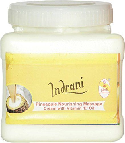 Buy Indrani Cosmetics Pineapple Nourishing Massage Cream With Vit-e Oil-1kg online