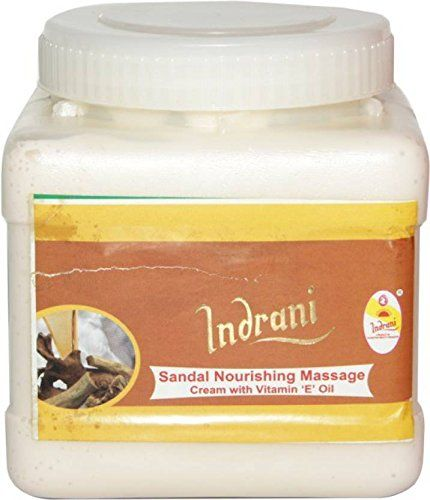 Buy Indrani Cosmetics Sandal Nourishing Massage Cream With Vit-e Oil-1kg online