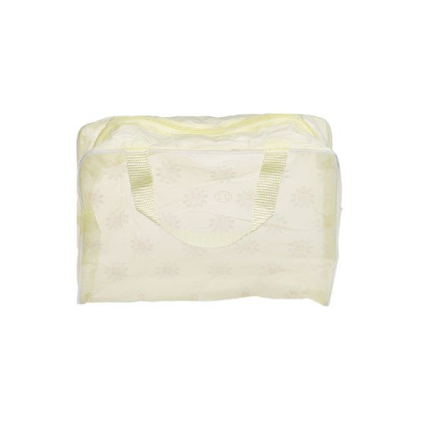 Buy Futaba Portable Cosmetic Toiletry Travel Pouch Organizer Bag - Yellow 2 PCs online