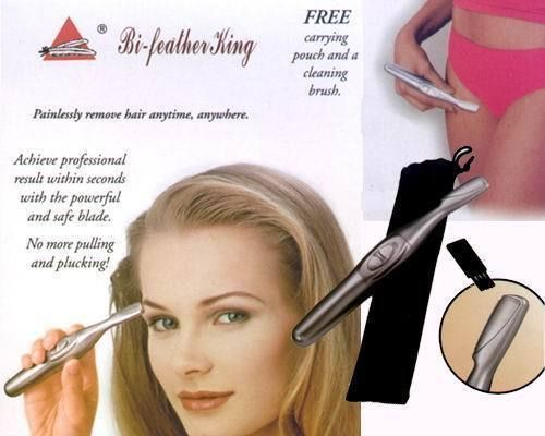 Buy Feather King Eye-brow Trimmer Shaper Shaver/ Painless Hair Remover online
