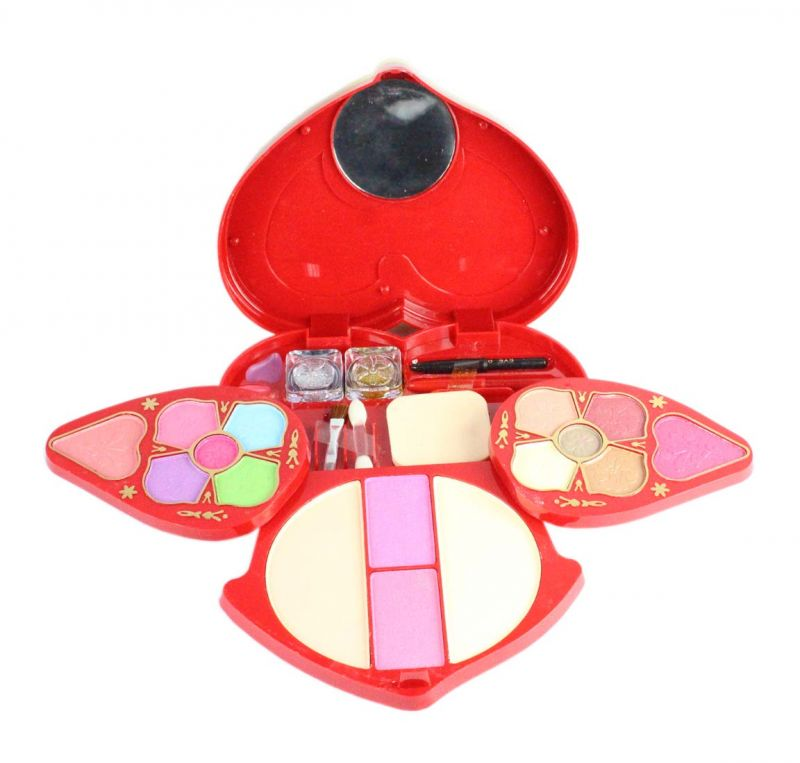 Buy Babble Color Series 12-eyeshadow, 2-blusher, 4- Powder Cake,2- Blusher, 2- Glitter Golden, Silver, 1- Eye Brow Pencil With 2 Brushes online