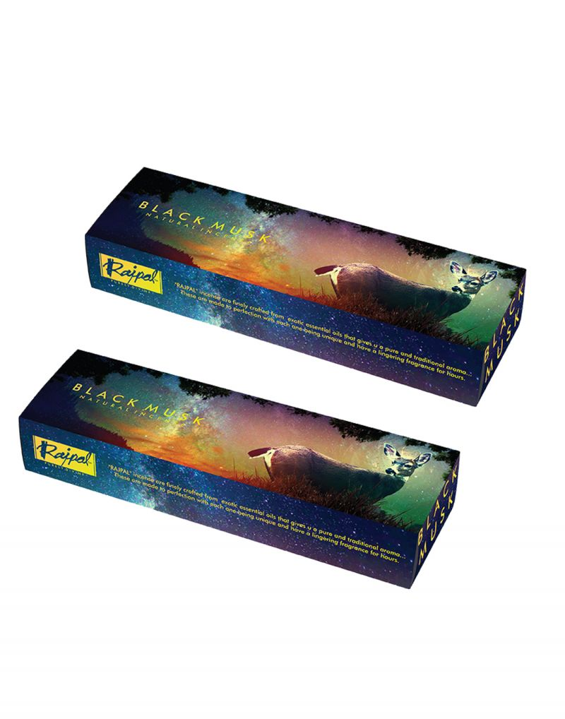 Buy Rajpal Black Perfumed Fragrance Natural Incense Stick (250Gram) online