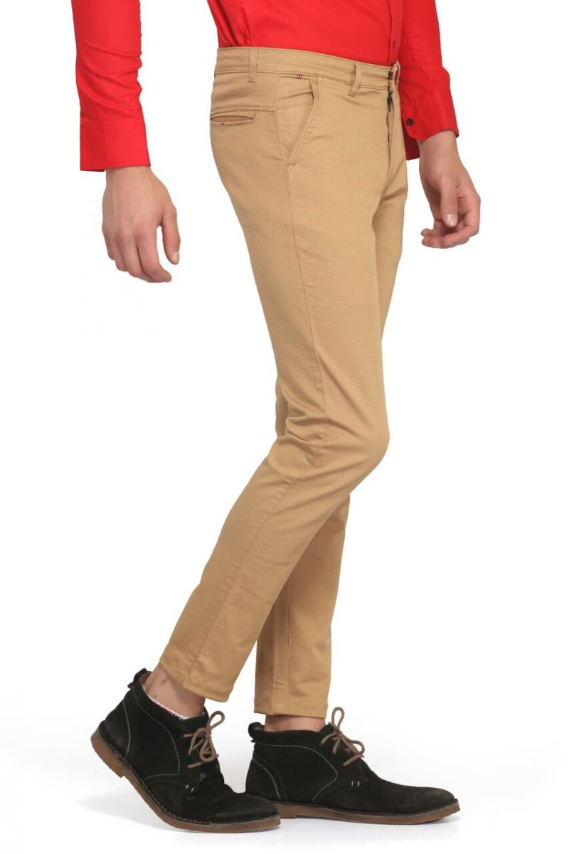 Buy Mr. Stag Men's Cotton Dark Occur Casual Trouser (code - Trouser Ng002) online