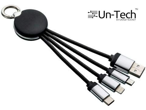 Buy Untech 3 In 1 Charging Cable With Light online
