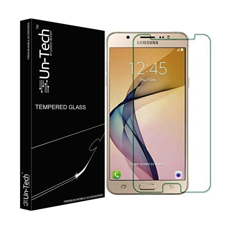 Buy Un-tech Samsung Galaxy J7 Max Tempered Glass Screen Protector With Installation Kit online
