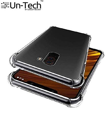 promo code 42bcf c72dd Un-tech Poco F1 Transparent Mobile Phone Back Cover Case With Tpu Corner  Protection Phone Cover