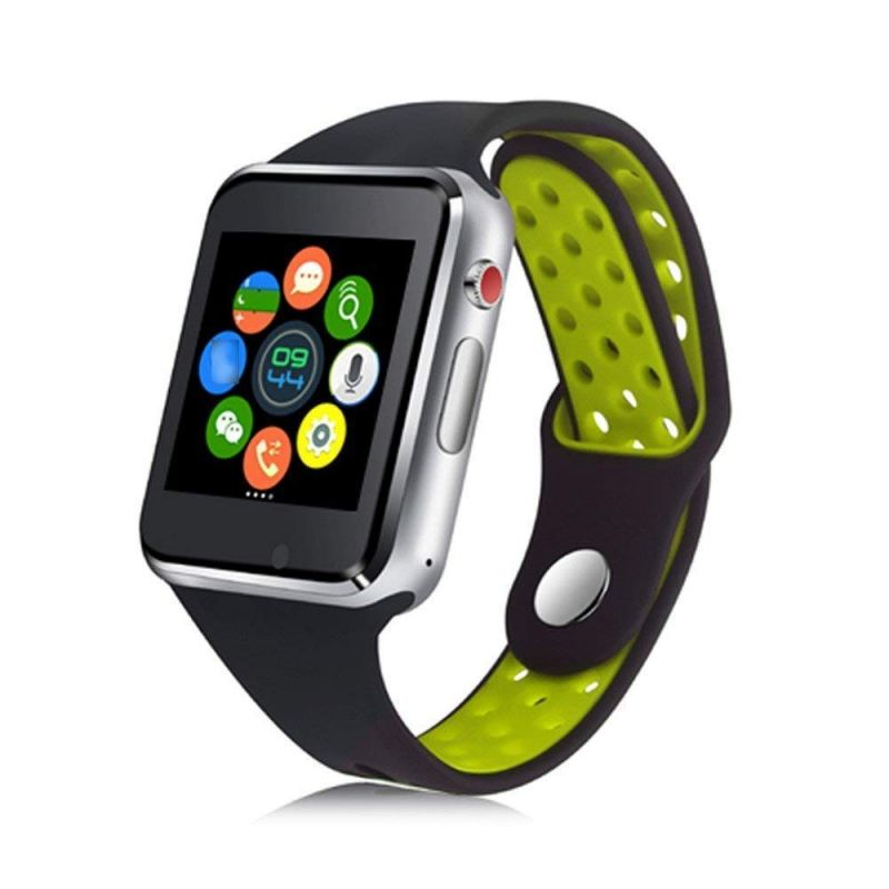 Buy Untech M3 Smart Watch Full Touch Screen Bluetooth With Sim Card Slot/memory Card (green) online