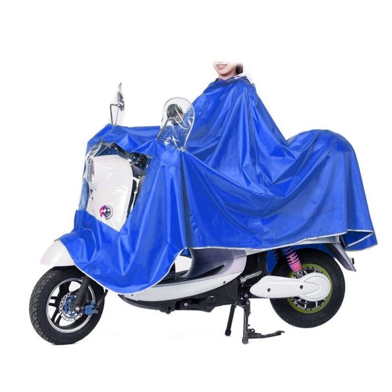 Buy Un-tech Oversized Motorcycle Rider Raincoats Motorbike Scooter Electric Bike Raincoats Adults Thickened Poncho online