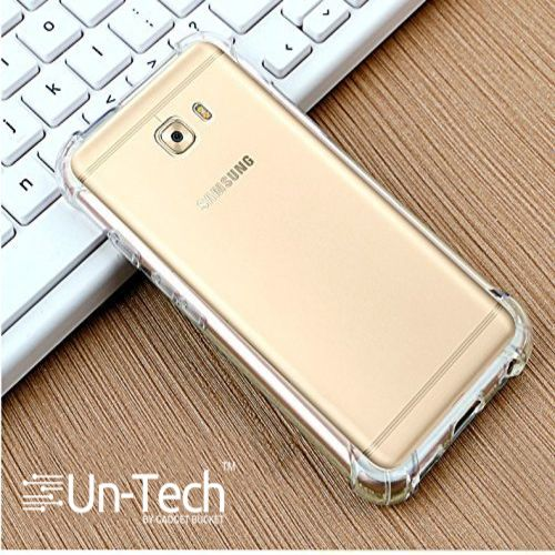 best sneakers e1aa8 f4c9b Un-tech Samsung J7 Max Transparent Mobile Phone Back Cover Case With Tpu  Corner Protection ( Clear) Phone Cover