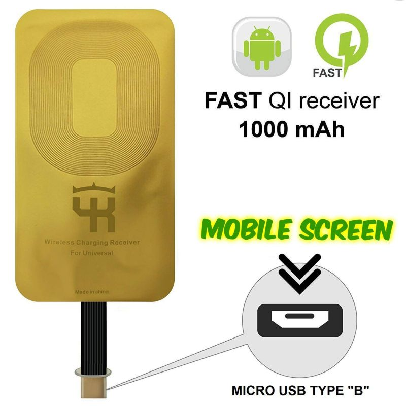 Buy Untech Wireless Charging Receiver For All Android Mobile online