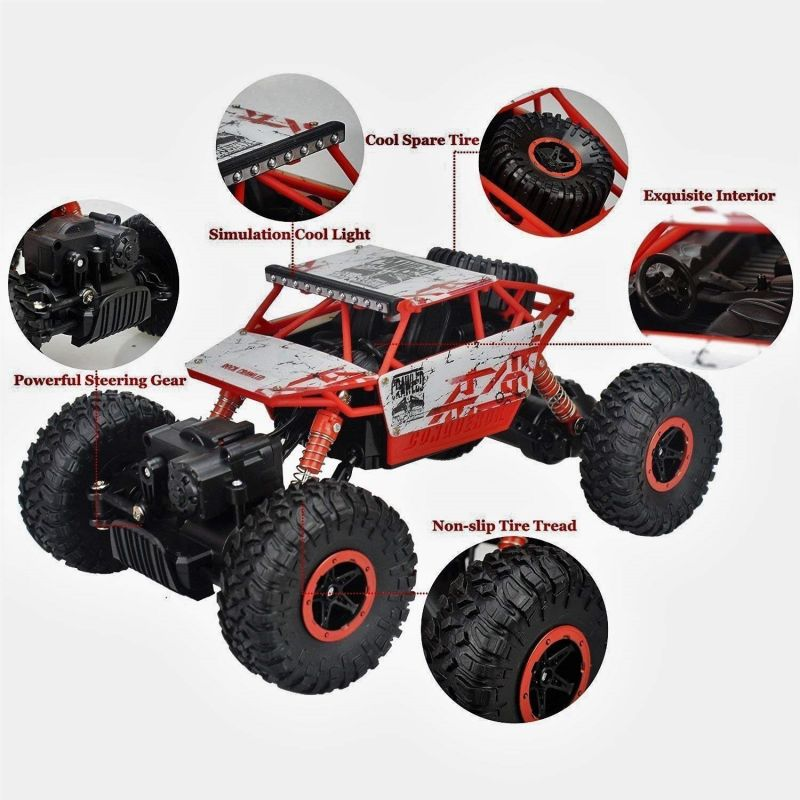 8cb5deb8dd Buy Waterproof Remote Controlled Rock Crawler Rc Monster Truck