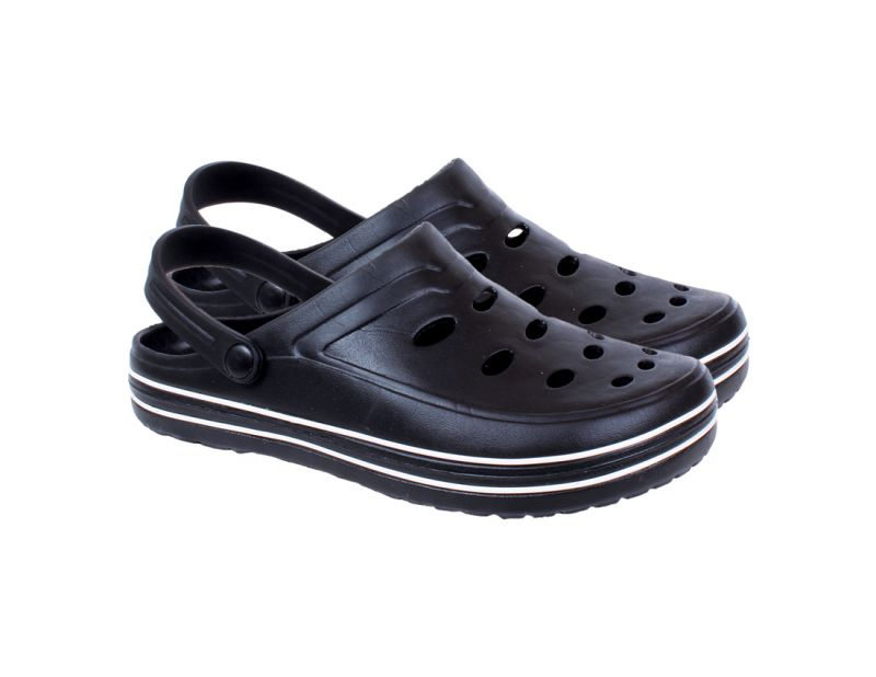 Buy Croc Casual Sandals In Black Color For Men From Kaystar online