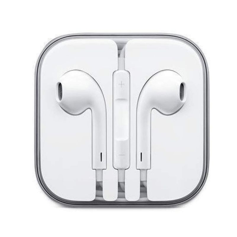 Buy Stark iPhone Original Earphone Compatible With iPhone 4/4s/5/5s/6/6s Ipad With 3.5mm Jack White online