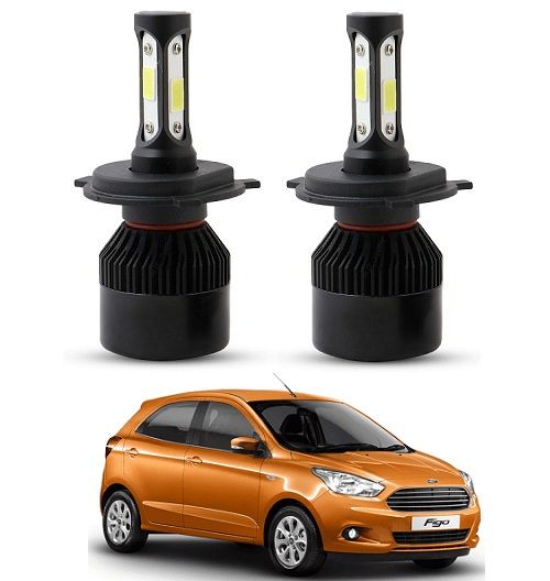 Buy Trigcars Ford Figo New LED Headlight Nighteye Light Set Of 2 online