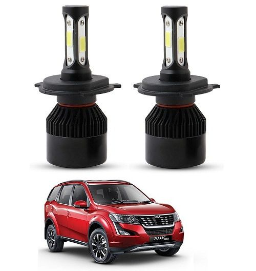 Buy Trigcars Mahindra Xuv 500 2018 LED Headlight Nighteye Light Set Of 2 online