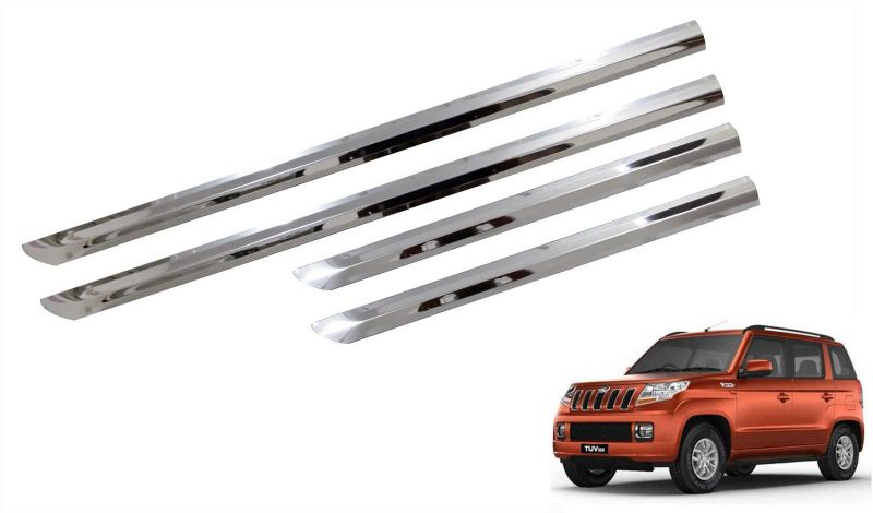 Buy Trigcars Mahindra Tuv 300 Car Steel Chrome Side Beading online