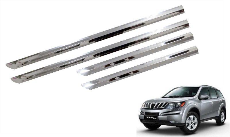 Buy Trigcars Mahindra Xuv 500 Car Steel Chrome Side Beading Online