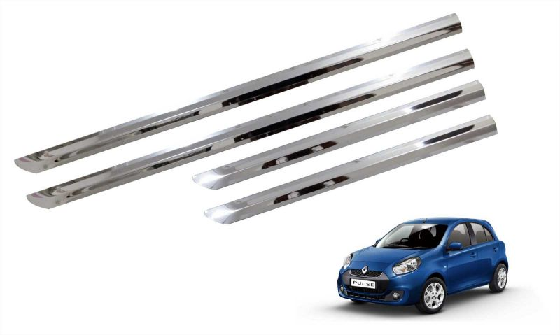 Buy Trigcars Renault Pulse Car Steel Chrome Side Beading online