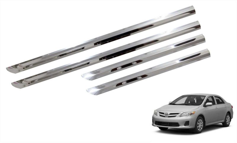 Buy Trigcars Toyota Corolla New Car Steel Chrome Side Beading online